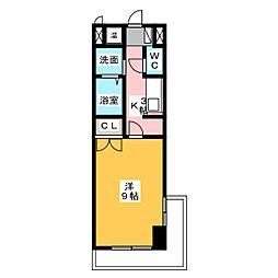 アドヴァン中央[5階]の間取り
