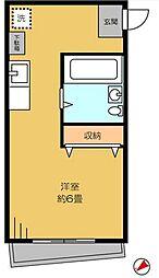 東京都江戸川区中葛西5の賃貸マンションの間取り