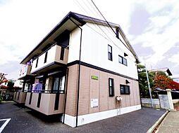 東京都葛飾区東水元6丁目の賃貸アパートの外観