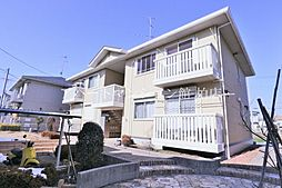 千葉県柏市手賀の杜1の賃貸アパートの外観