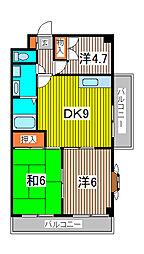 田口ビル[8階]の間取り