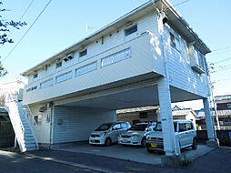 愛媛県松山市星岡3丁目の賃貸アパートの外観