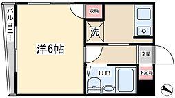 佐藤コーポ[202号室]の間取り