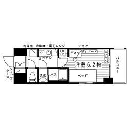 (仮称)本蓮沼駅学生会館 食事付き 7階1Kの間取り