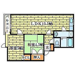 NSビル[4階]の間取り