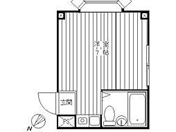 リバティパーク哲学堂[2階]の間取り