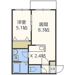 クレステージN31[2階]の間取り