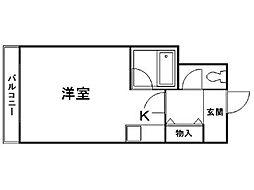 ジョイフル札幌[-7階]の間取り