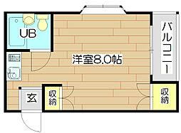 STヴィラ芥川[3階]の間取り