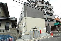 広島県広島市佐伯区海老園1丁目の賃貸アパートの外観