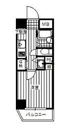 神奈川県横浜市西区北幸2丁目の賃貸マンションの間取り