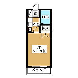 MUTOビル[2階]の間取り