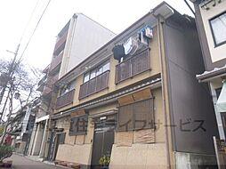 京都府京都市東山区宮川筋7丁目の賃貸アパートの外観