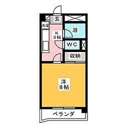 コープKII[2階]の間取り