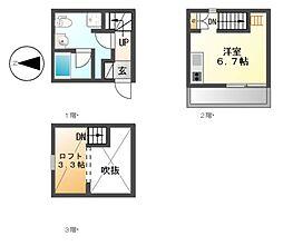 フォルトゥーナ柴田[1階]の間取り