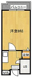 Rinon脇浜[2階]の間取り