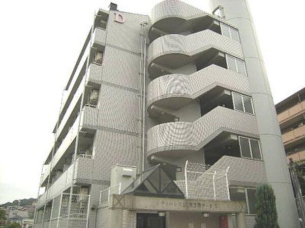 シティパレス東生駒P-3 D[2階]の外観