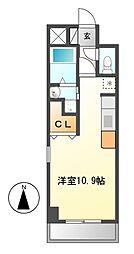 コート新栄[3階]の間取り