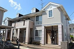 愛知県あま市小橋方四ツ物の賃貸アパートの外観