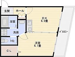 コンチェルト[3階]の間取り