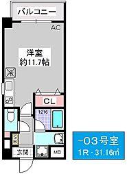 ATIRL[4階]の間取り