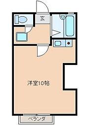 パレロワイヤル[3階]の間取り