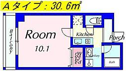MMS-2[503号室]の間取り