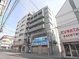 京都府京都市右京区西院巽町の賃貸マンションの外観