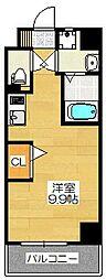 エンクレスト奈良屋[7階]の間取り