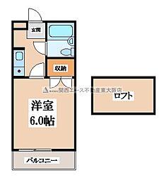 野崎KS[3階]の間取り