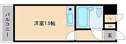 ミフネセントラルベア東三国[5階]の間取り