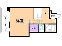 KOYASVI コヤスシックス[8階]の間取り