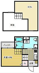 ラヴィータ御崎[2階]の間取り