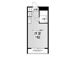 メゾン・ド・ノア大和田[2階]の間取り