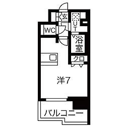 プレサンス鶴舞公園ウィズ[2階]の間取り