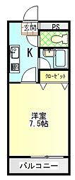 さくら館huji[3階]の間取り