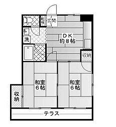 マルコーコーポ[2階]の間取り