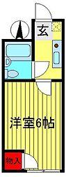 N・Yマンション[102号室]の間取り