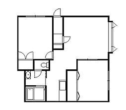 アパートメントコアラ[101号室]の間取り