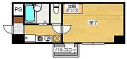 京卓ハイツ[2階]の間取り