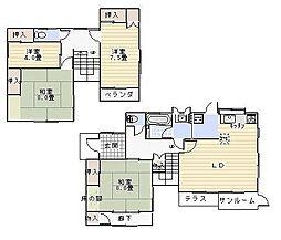 [一戸建] 神奈川県鎌倉市大町6丁目 の賃貸【/】の間取り