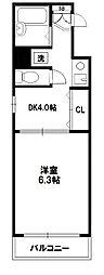 エステムコート新大阪[8階]の間取り