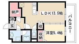 愛知県名古屋市緑区高根山1丁目の賃貸マンションの間取り