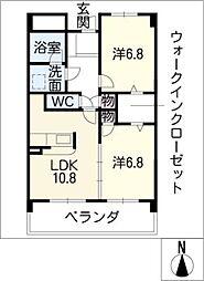 東雲(しののめ)[2階]の間取り