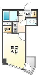 ユニテック甲子園[2階]の間取り