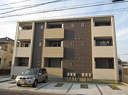 愛知県名古屋市北区中味鋺3丁目の賃貸アパートの外観