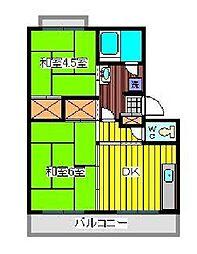 アネックスIII[4階]の間取り