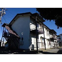 長野県伊那市狐島の賃貸アパートの外観