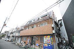 大阪府東大阪市森河内西1丁目の賃貸マンションの外観