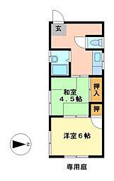 愛知県名古屋市西区大金町1丁目の賃貸マンションの間取り